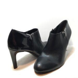 Franco Sarto Black Ankle Shoes